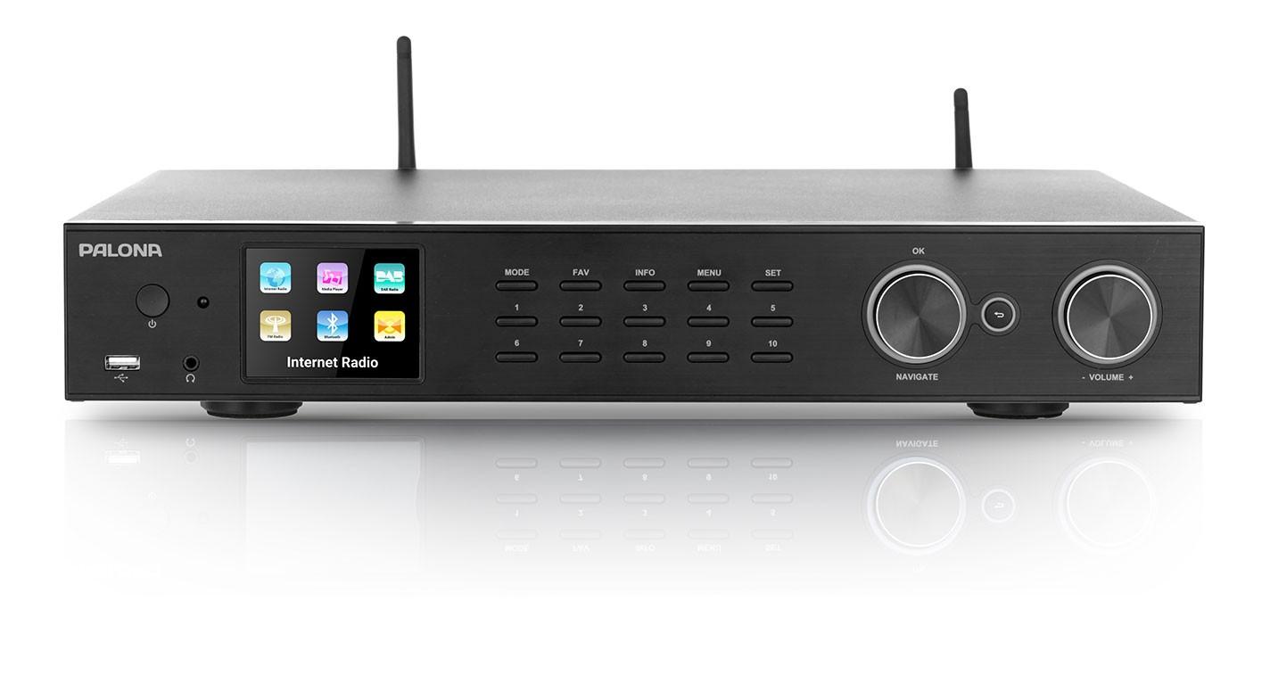 Palona 190 C, 43cm Internetradio, DAB/DAB+, UKW Tuner & Spotify