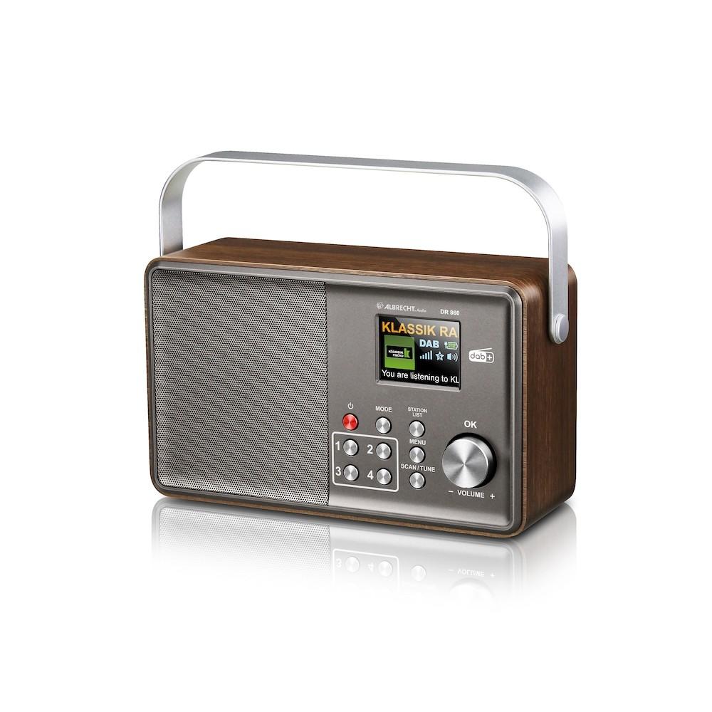Albrecht DR 860 Senior - das bedienerfreundliche Digitalradio