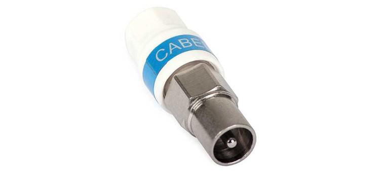 Cabelcon Self-Install-IEC Stecker Antennenstecker IECM-56 5.1 Self-Install, Klasse A