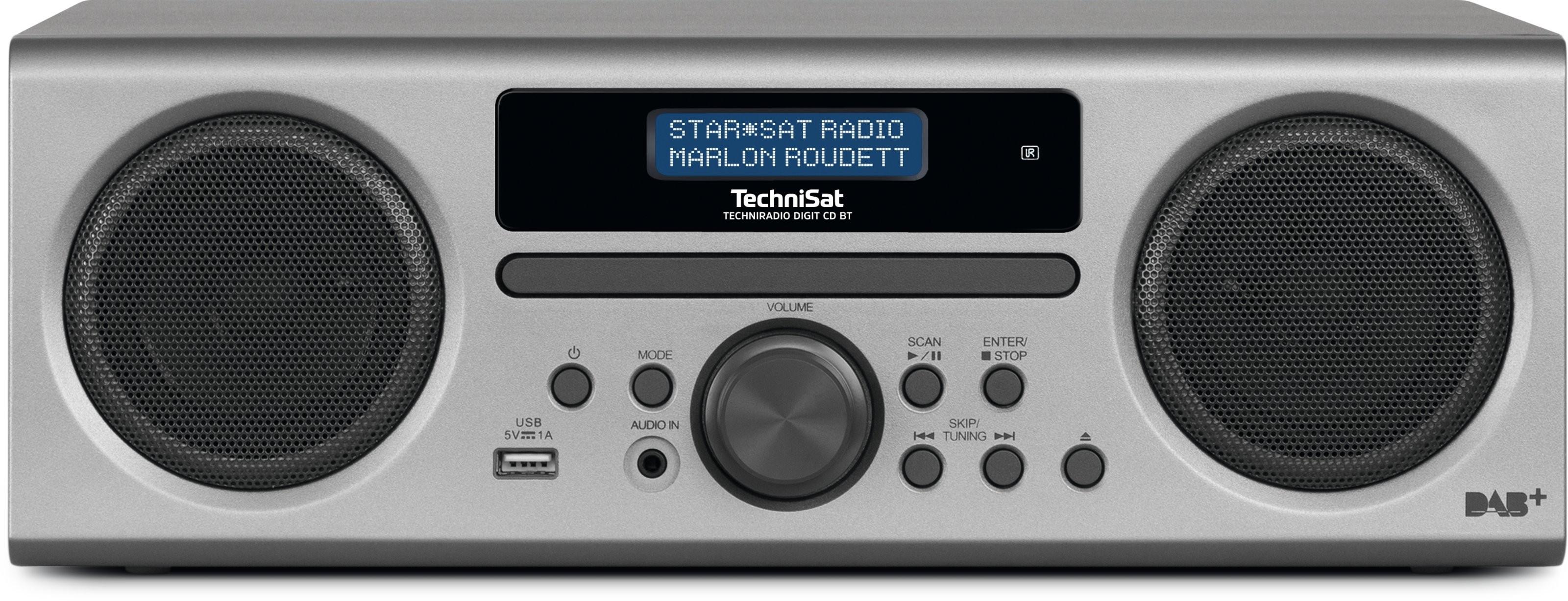 TechniSat TechniRadio Digit CD BT silber