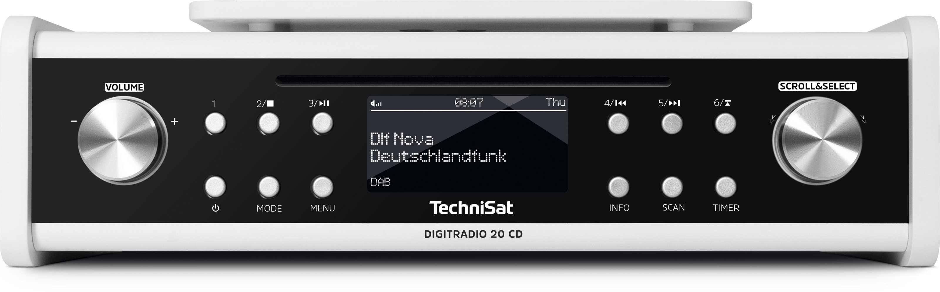 TechniSat DigitRadio 20 CD weiss