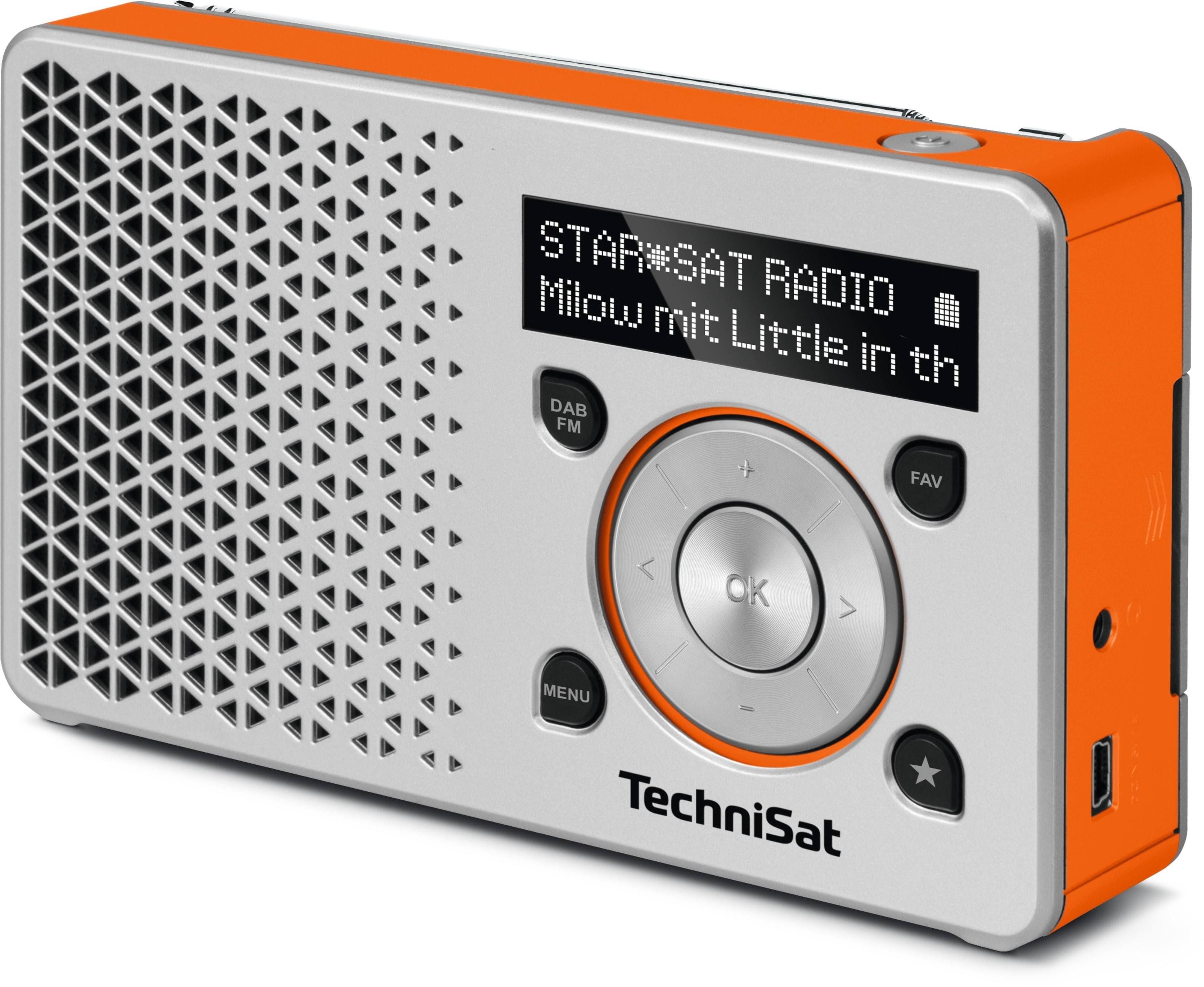 TechniSat DigitRadio 1, silber / orange