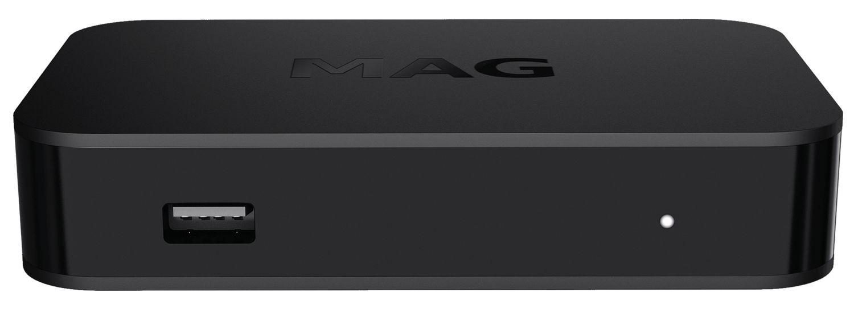 Infomir MAG 349 W3 WLAN WIFI integriert Dual Band Streamer Set Top Box Internet IPTV