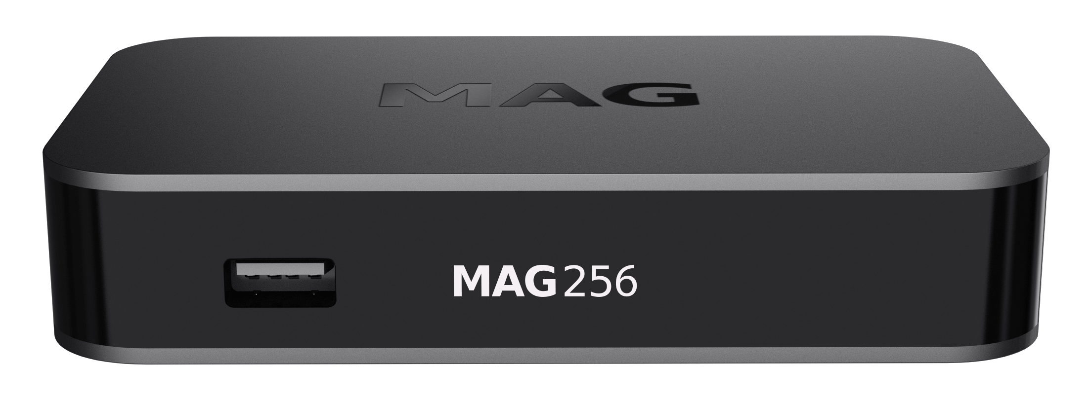 MAG 256 IPTV SET TOP BOX Multimedia player Internet TV IP Konsole USB HDTV 1080p