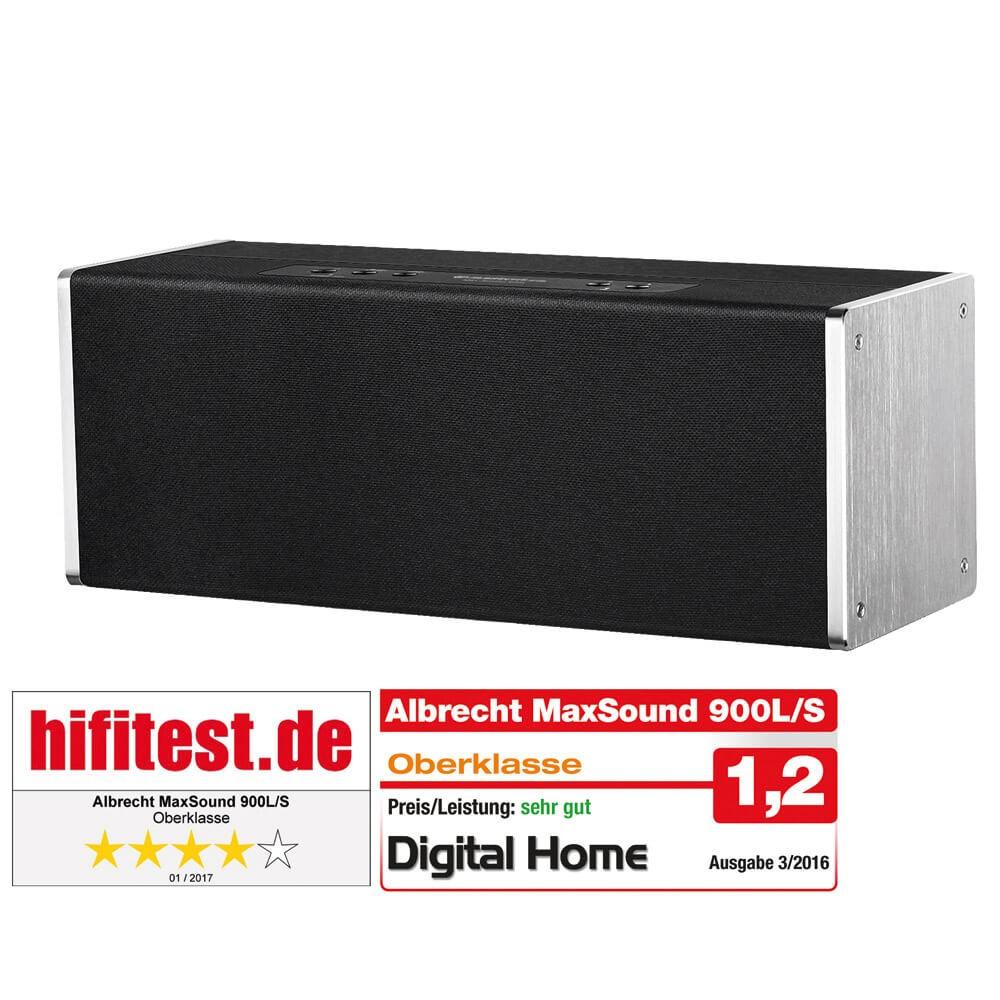 Albrecht MAX-Sound 900 L, 38 Watt Multiroom Lautsprecher