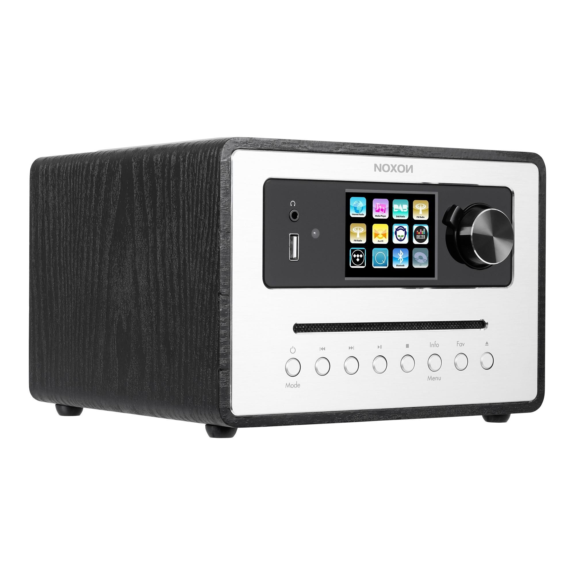 Noxon iRadio 500 CD Schwarz