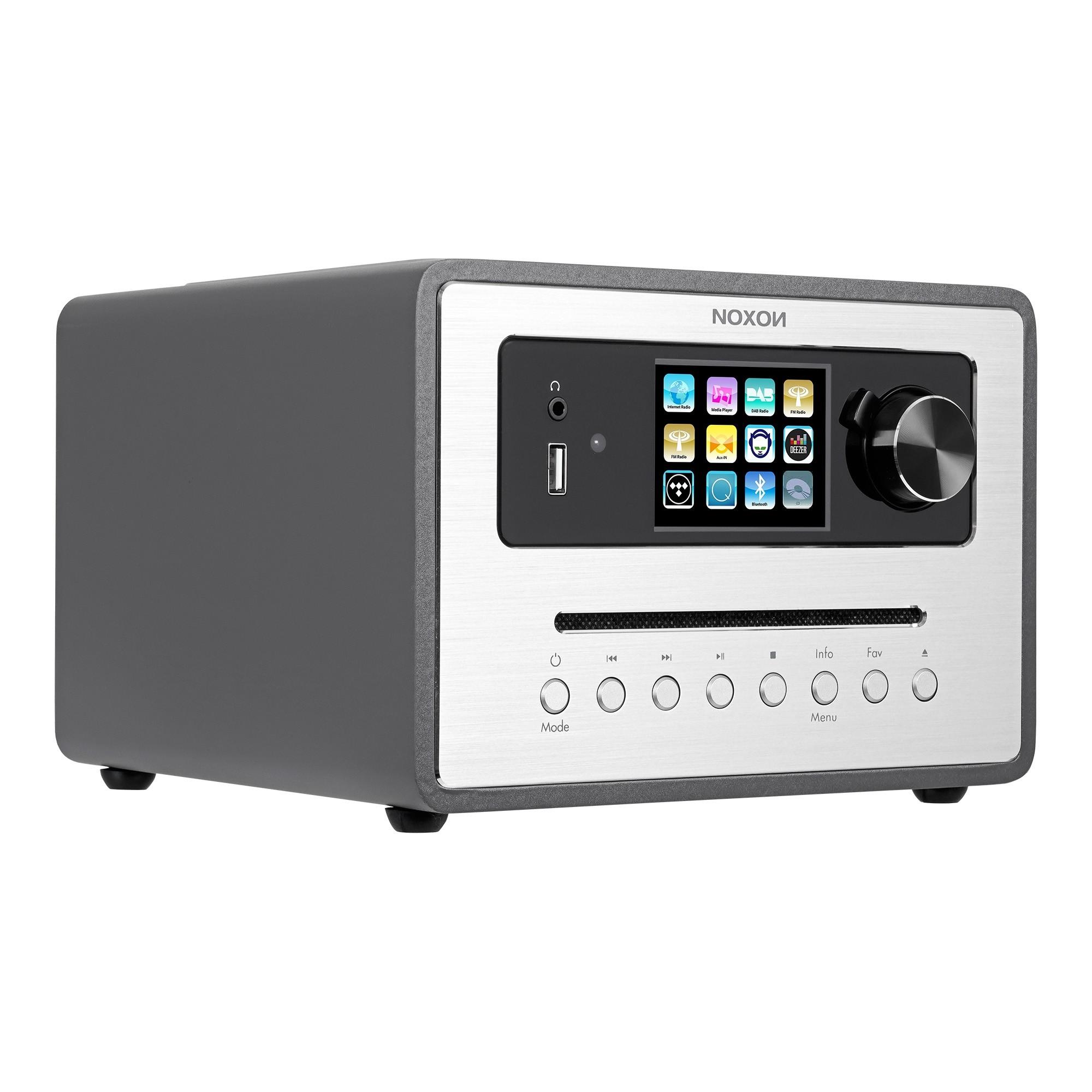 Noxon iRadio 500 CD Anthrazit