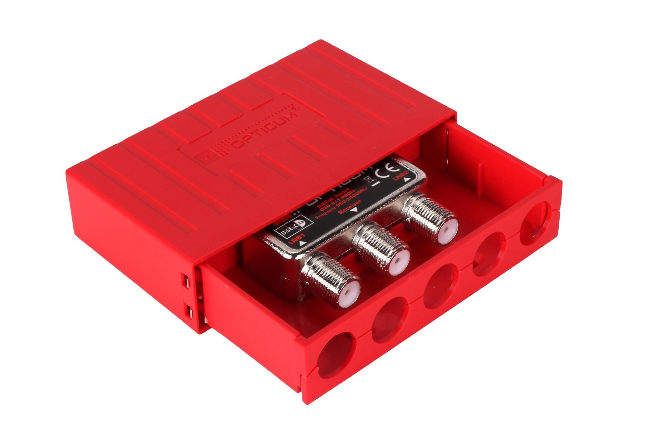 Opticum DSG 2/1 Profi DiseqC Schalter