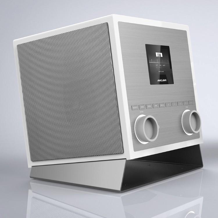 Palona Quubi, Elfenbeinweiss-silber, 2.1 Soundsystem mit Subwoofer, 60 Watt
