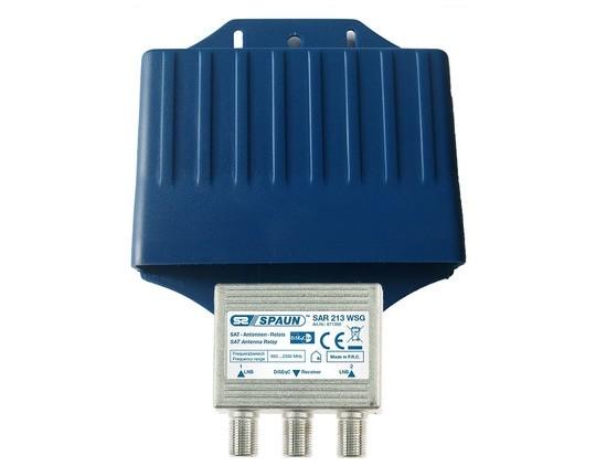 Spaun Diseqc-Schalter SAR 213 WSG Switch 2/1