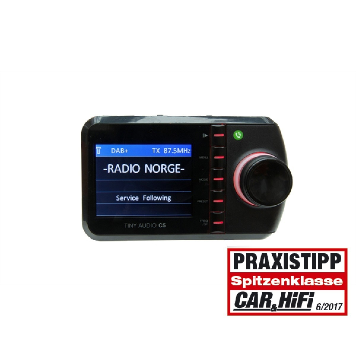TINY Audio C5 Autoradio DAB+ Adapter mit Bluetooth Streaming