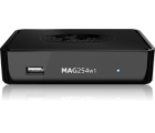 Infomir MAG 254 W1 mit WLAN (Wifi) integriert, IPTV SET TOP BOX Multimedia player Internet TV IP Konsole USB HDTV 1080p