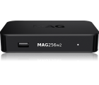 Infomir MAG 256 W2 mit WLAN (Wifi) integriert, IPTV SET TOP BOX Multimedia Player Internet TV IP Konsole USB HDTV 1080p