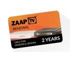 ZaapTV Verlängerung für HD409N, HD509N - 24 Monate