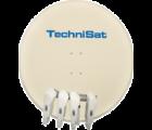 TechniSat Skytenne BEIGE, Quatro (Mehr Teilnehmer-Empfangssystem)