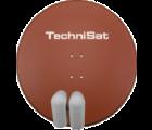TechniSat GIGATENNE 850 ROT mit 2x Quatro LNB geeignet für Multischalter 9728/8884