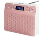 Akai DYNMX Portable DAB+ Radio mit LC- Display und Alarmfunktion - Rose Gold