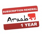 AraabTV Verlängerung THD504L IPTV  - 12 Monate