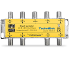 Technisat 8-Wege Verteiler, 8x DC-Durchlass, diodenentkoppelt