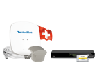 TECHNISAT Multytenne POLARWEISS, 1 Teilnehmer, Set Swiss Editionpaket