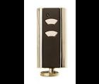 Normstahl Design 2-Kanal Handsender mit Schlüsselring RCU 433 2K Keeloq