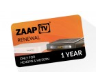 ZaapTV Verlängerung für HD409N, HD509N - 12 Monate