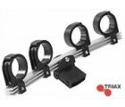 Triax TD-Multiblock Multifeedhalter LNB Halter für 4 LNB