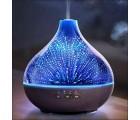 3D Wunderlampe. Aroma Diffusor, Eiche dunkel, Stimmungslicht, Luftbefeuchter