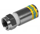 TechniSat F-Kompressionsstecker 4.9, 100dB, 100 Stk., 0001/3337