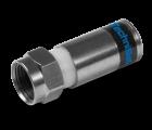 TechniSat F-Kompressionsstecker 3.9, 100dB, 100 Stk., 0001/3338