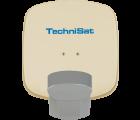 TechniSat Multytenne QuattroSat Beige, Zwei-Teilnehmer 4 Orbitpositionen
