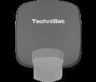 TechniSat Multytenne QuattroSat Schiefergrau, Ein-Teilnehmer 4 Orbitpositionen