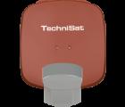TechniSat Multytenne QuattroSat Ziegelrot, Ein-Teilnehmer 4 Orbitpositionen