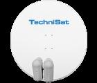 TechniSat GIGATENNE 850 Polarweiss mit 2x Quatro LNBs geeignet für Multischalter
