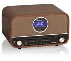 Roadstar HRA-1782ND+BT Retro Design Radio Holz DAB+/UKW CD Bluetooth Vintage