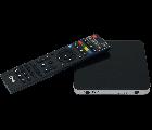 TVIP S-Box v.605 IPTV 4K HEVC HD Multimedia Stalker Streamer schwarz