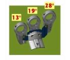 Cahors Multifeedhalter G3 für Bisat Antenne, 13°,19° und 28.2°