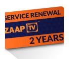 ZaapTV Verlängerung für HD509NII & CloodTV - 24 Monate